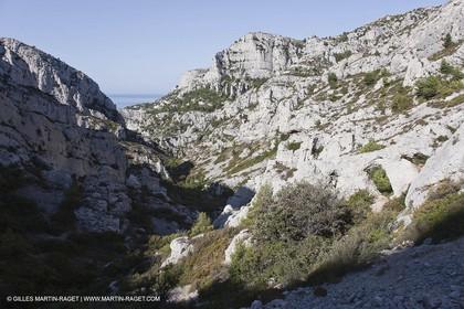 07 09 2009 - Marseille (FRA, 13) - Les Calanques - Massif de Marseilleveyre - Les Malvallons