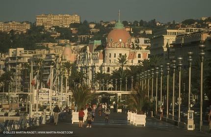 the Promenade des Anglais - Nice