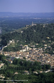 Alpilles and Montagnette hills, Orgon