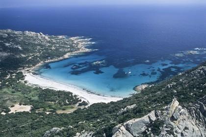 France, Corsica, Roccapina bay