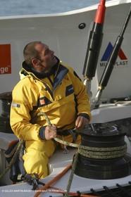 Orange II - First sea trials - Ronan Legoff