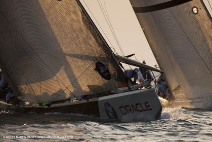 14 11 2010 - Dubai (UAE) - Dubai Louis Vuitton Trophy -  BMW ORACLE Racing - Race Day 1 - Vs All 4 one