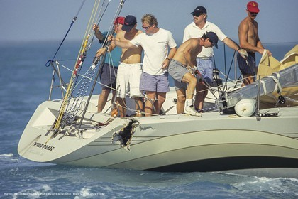 50 ft regatta, Key West, Florida, 1989