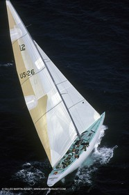 America's Cup, Fremantle 1987, Heart of America, Courageous