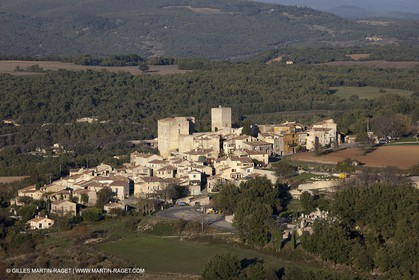 29 10 2012 - Caseneuve (FRA,84) - Luberon as seen from above