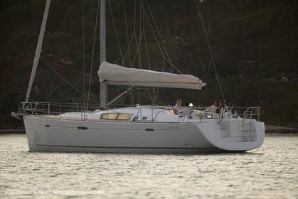 Cruising monohull mooring