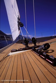 Deck fitting
