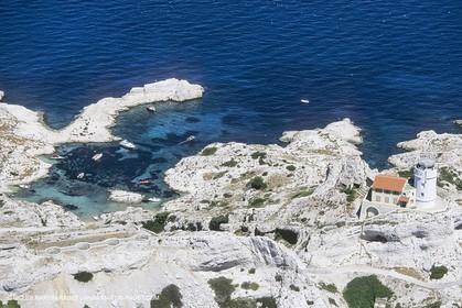 France, Provence, Les Calanques & Iles de Marseille, Iles du Frioul