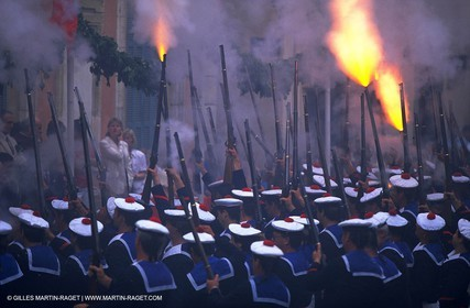 Traditionnal costumed festival in Saint Tropez