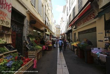 France, Provence, Marseille, quartier de Noailles