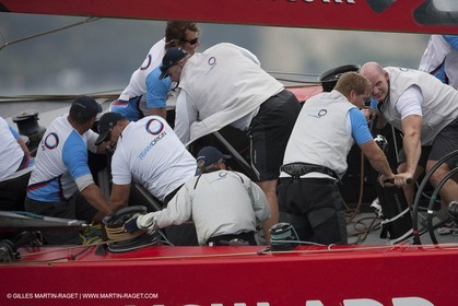 31 01 2009 - Auckland (NZL) -  Louis Vuitton Pacific Series -  Racing Day 2