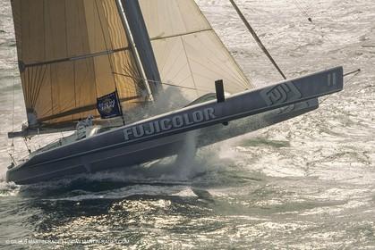Yacht Racing, Multihull, ORMA 60, Loyck Peyron, Fujicolor
