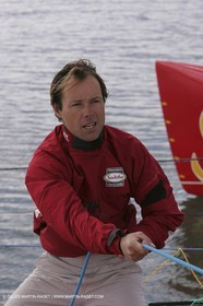 Orma 2005 - Sodebo - April training - Thomas Coville
