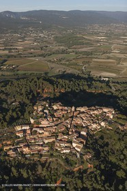 29 10 2012 - Roussillon (FRA,84) - Luberon as seen from above