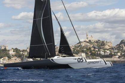 24 09 2012 - Marseille (FRA,13) - Match race France 2012 - Arrivée des MOD 70 du  Tour de l'Europe