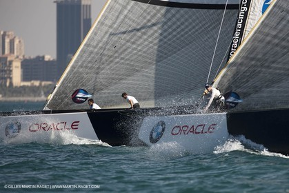 19 11 2010 - Dubai (UAE) - Dubai Louis Vuitton Trophy - Round 2 -  BMW ORACLE Racing Vs Synergy
