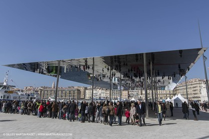 02 02 2013 Marseille (FRA,13) - Opening of the shadehouse and renovated historical Vieux Port