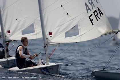 23 04 2007 - 2007 Semaine Olympique Française - Hyères (South of France) - Day 2 - Team France - Laser - Pruvot Felix