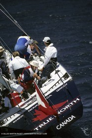 America's Cup, Fremantle 1987, Terry Mc Laughlin