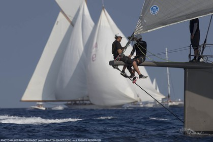 27 09 2015, Saint-Tropez (FRA,83), Voiles de Saint-Tropez 2015, Yacht Club de France Cup (Cannes Saint-Tropez) and training day