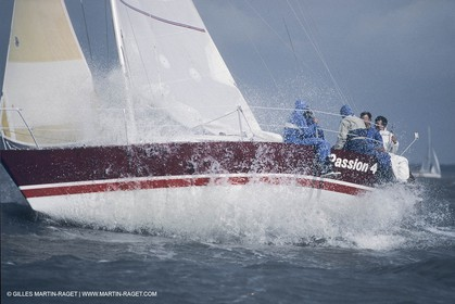 Sailing, yacht Racing, Spi Ouest France