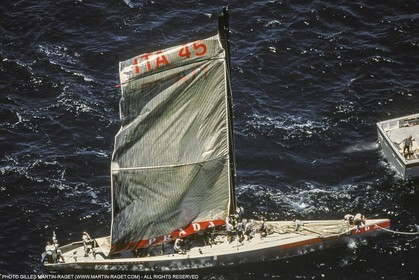 Yacht racing, 30th America's Cup 2000, Auckland (NZL), Luna Rossa