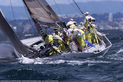 America's Cup - Auckland 2000  - Louis Vuitton Cup - Round Robin 2 - Nippon Challenge