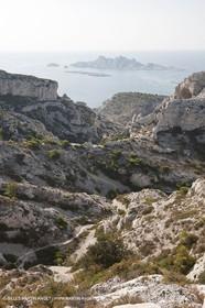 10 09 2009 - Marseille (FRA, 13) - Les Calanques - Massif de Marseilleveyre - Col inférieur de la Mounine