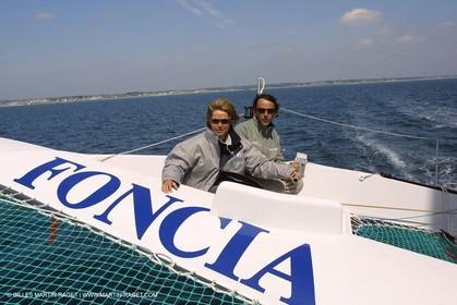 2002 ORMA Multihulls Championship - Lorient Grand Prix - Christine Janin