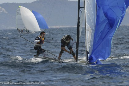 2003 Hyeres Sailing Week (SOF) - 49ers
