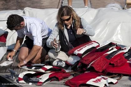21 04 2009 - Cagliari (ITA, Sardinia) - RC44 Championship Tour - RC 44 Cagliari Cup - Training day