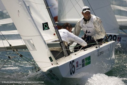 07-05-07 - ISAF SAILING WORLD CHAMPIONSHIPS - CASCAIS 2007 - DAY 2 - Star Class - GERMANY - PICKEL,BORKOWSKI