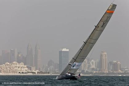 15 11 2010 - Dubai (UAE) - Dubai Louis Vuitton Trophy -  BMW ORACLE Racing Vs Artemis