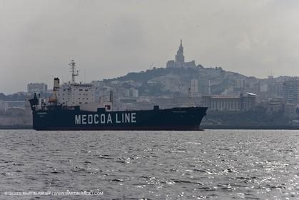 02 03 2009 - Marseille (FRA,13) - Beneteau Festival test 2009 - Oceanis 54