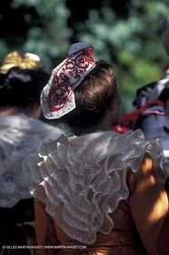 Women of Arles in traditional costume