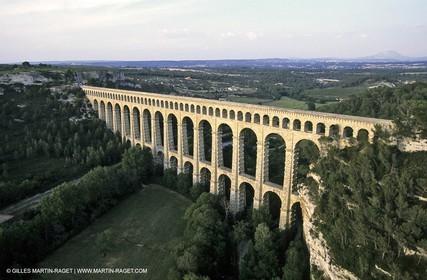 Aix en Provence surroundings, Roquefavour bridge