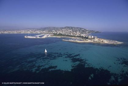 France, Provence, Côte d'Azur, Littoral, Palm beach cannes