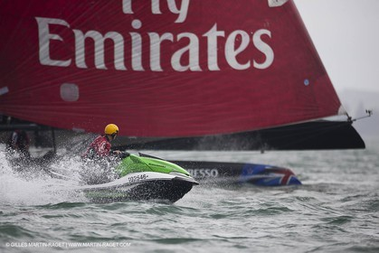 03 05 2011 - Auckland (NZL) - 34th America's Cup - AC45 Test Event - Day 8