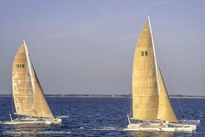 Sailing, Offshore Racing, Route du Rhum 1990, Fujichrome (Mike Birch), Fujicolor (Didier Munduteguy)