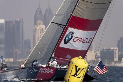 16 11 2010 - Dubai (UAE) - Dubai Louis Vuitton Trophy -  BMW ORACLE Racing Vs Synergy