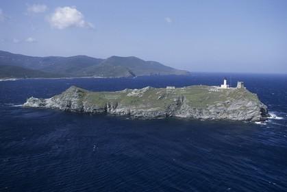 France, Corsica, Giraglia Island
