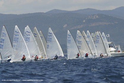 2003 Hyeres Sailing Week (SOF) - Finn