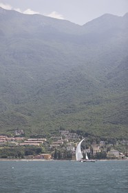 11 07 2008 - Malcesine (ITA, Lake Garda) - RC 44 World Championsship - Malcesine SLAM Cup 08 - Day 3