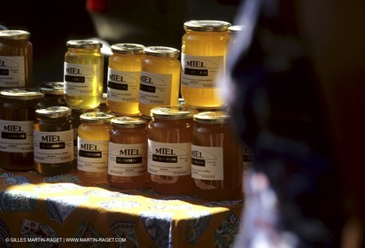 Apiculture in upper provence