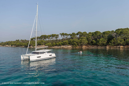 12 09 2016, Cannes (FRA,06), Chantier Fountaine-Pajot, Lucia 40