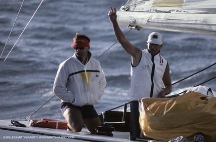 America's Cup, Fremantle 1987, New Zealand, Laurent Esquier, Chris Dickson