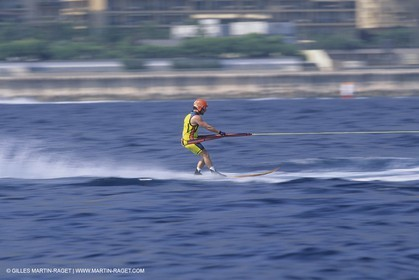 Speed water skiing