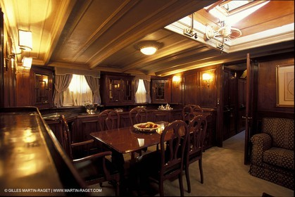 Interiors - Classic yachts - Orion