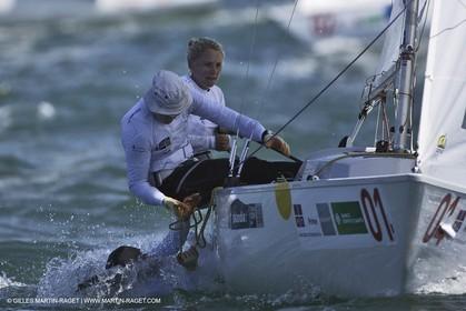 11-05-07 - ISAF SAILING WORLD CHAMPIONSHIPS - CASCAIS 2007 - DAY 8 - Yingling - Medal race - Ayton - Webb - Wilson