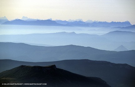 South Alps taken from Moint Ventoux
